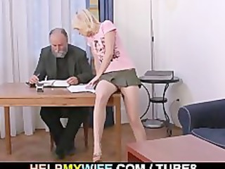 older spouse pays him to fuck his wife