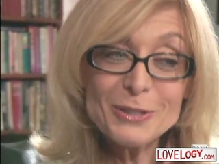mature women younger guys nina hartley, large