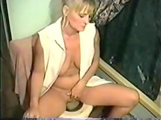 older golden-haired smokin fetish porno