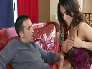 ariella ferrera gets an anal ball cream pie