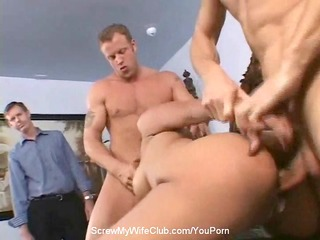 anal 4some with swinger wife