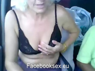 a 810 years old grandmother from romania having