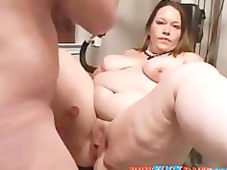 home filming very anal chubby wife
