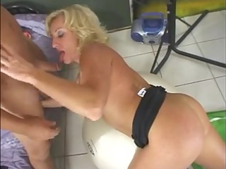 hawt aged golden-haired cougar stephanie