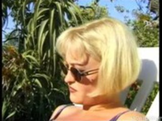 golden-haired d like to fuck in the garden - ||