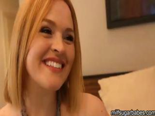 breasty blond milf krissy lynn needs cash so she