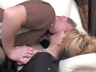 hot russian aged lady boss and employee russian