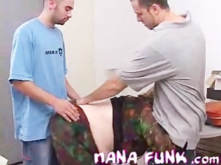 sexy grandma nanafunk engulfing legal age