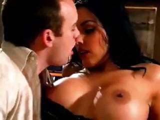 breasty latin babe mother i teases his stiff