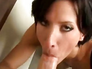 milfy sex pro lezley zen eats a young rod in her