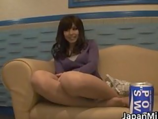 aya hirai fascinating oriental milf loves cock