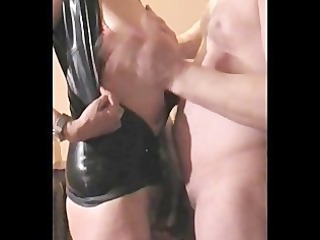 mrs b latex: hard titslap & o