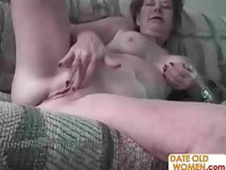 unattractive old woman and youthful sexually