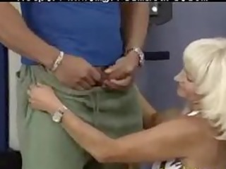eager old mamma receives screwed hard in her