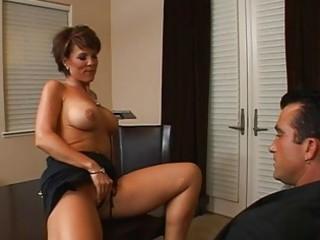 astonishing breasty brunette hair mother i