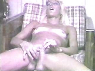 sandy blonde milf plays