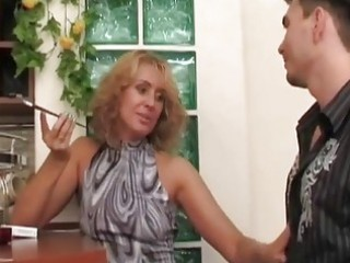Russian milf whore seduces,fuck...