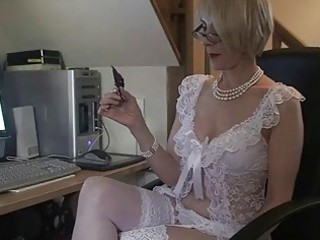 Mature office pussy fucking