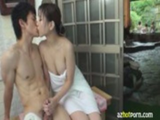 azhotporn.com - breasty wife mixed bathing and my
