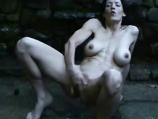 Great squirting outdoor of hot mature. amateur