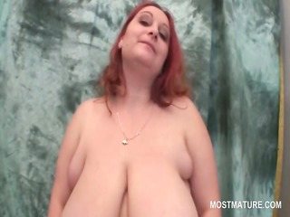 orgasm lust redhead older dildo fucking her cunt