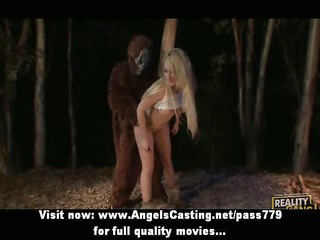 amazing blonde fucked hard in different positions