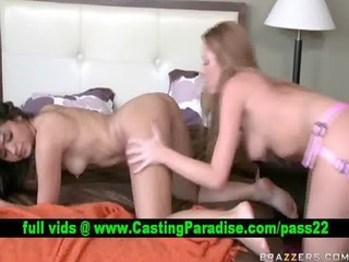 brynn and leah hard lesbo ding-dong sex