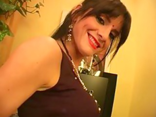 indian milf parades around the abode exposed -