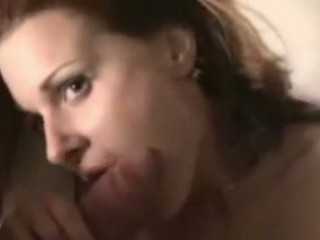 lascivious wife receives a large facial
