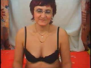 indecent granny in fishnet stockings craves you