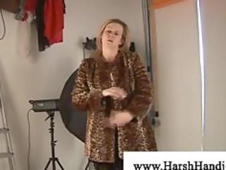 concupiscent older blonde lady craves wang