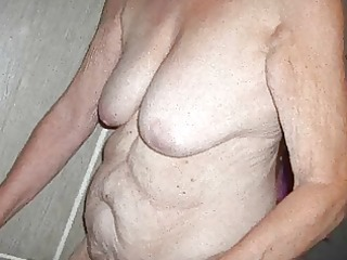 russian unshaved grannie! amateur!