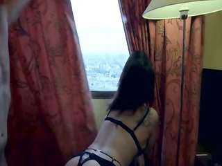 amelie double permeated in nylons