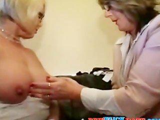 big beautiful woman lesbo grandmothers playing