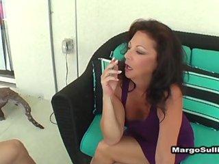 aged smokin blowjob