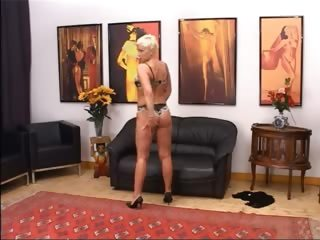 blonde aged having cunt fisted hard