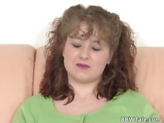 cute milf bawdy cleft dildoing solo act part8