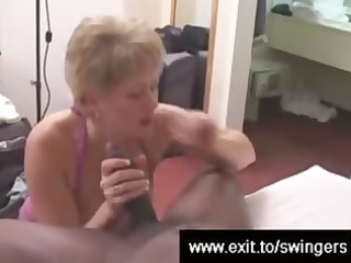 swinger mommy tracey devours bbc whilst hubby