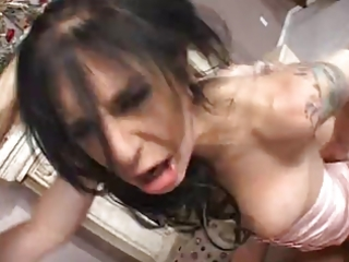 breasty and hot mom receives coarse screwed