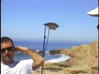 jon dough does a blond doxy at the beach and cums