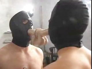 domina sade copulates with her hooded villein and
