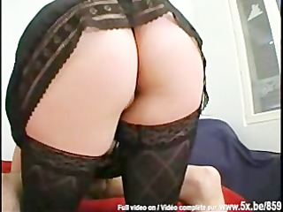 french big beautiful woman plays the floozy with