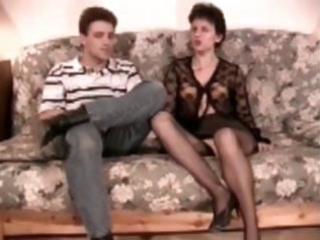 shaggy mature analfucked in nylons