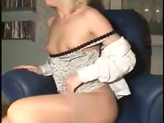 horny french dilettante housewife widens her