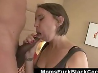 fat gazoo bulky mom screwed hard on interracial