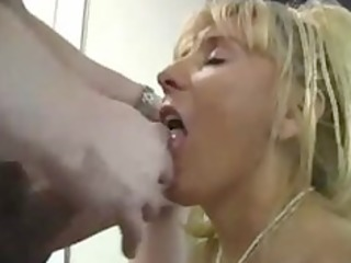 older busty cougar copulates younger chap