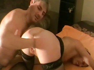 brutally fisting the wifes loose wet crack