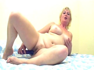 mature lady fucked by younger dude - intense