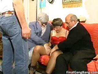 busty big boobed old mother i floozy engulfing