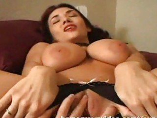 huge titty milf left with vagina leaking creampie